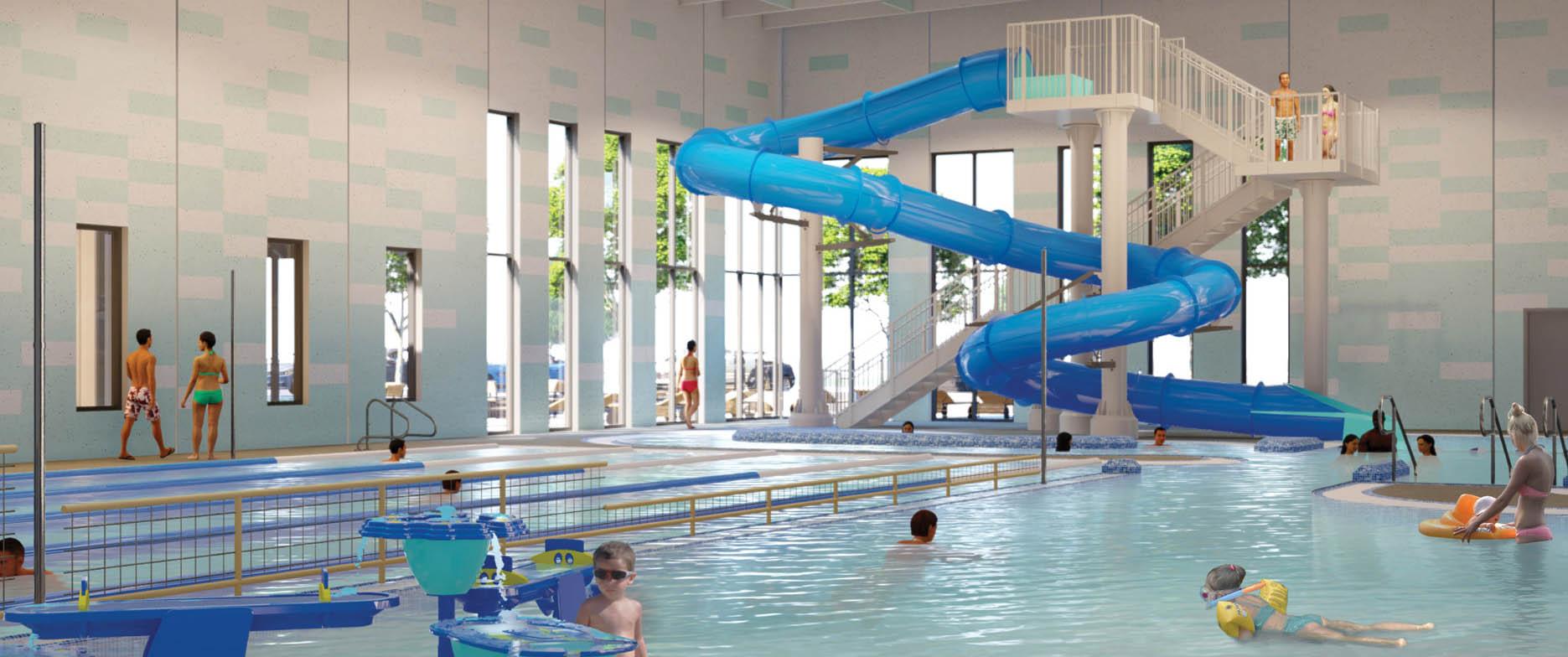 Heckart Community Center pool photo