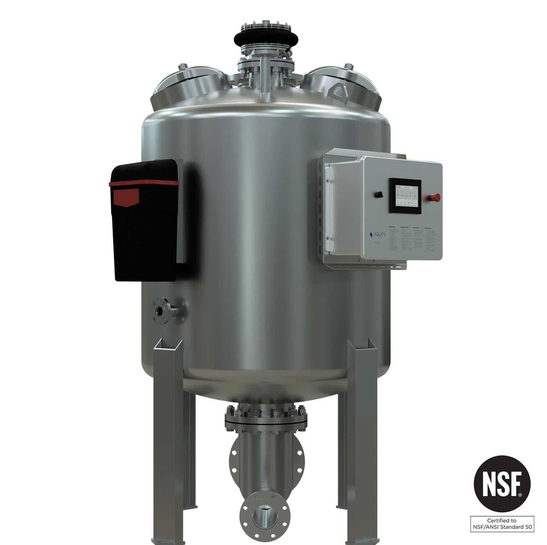 PMF-48 Regenerative Media Filter - Front