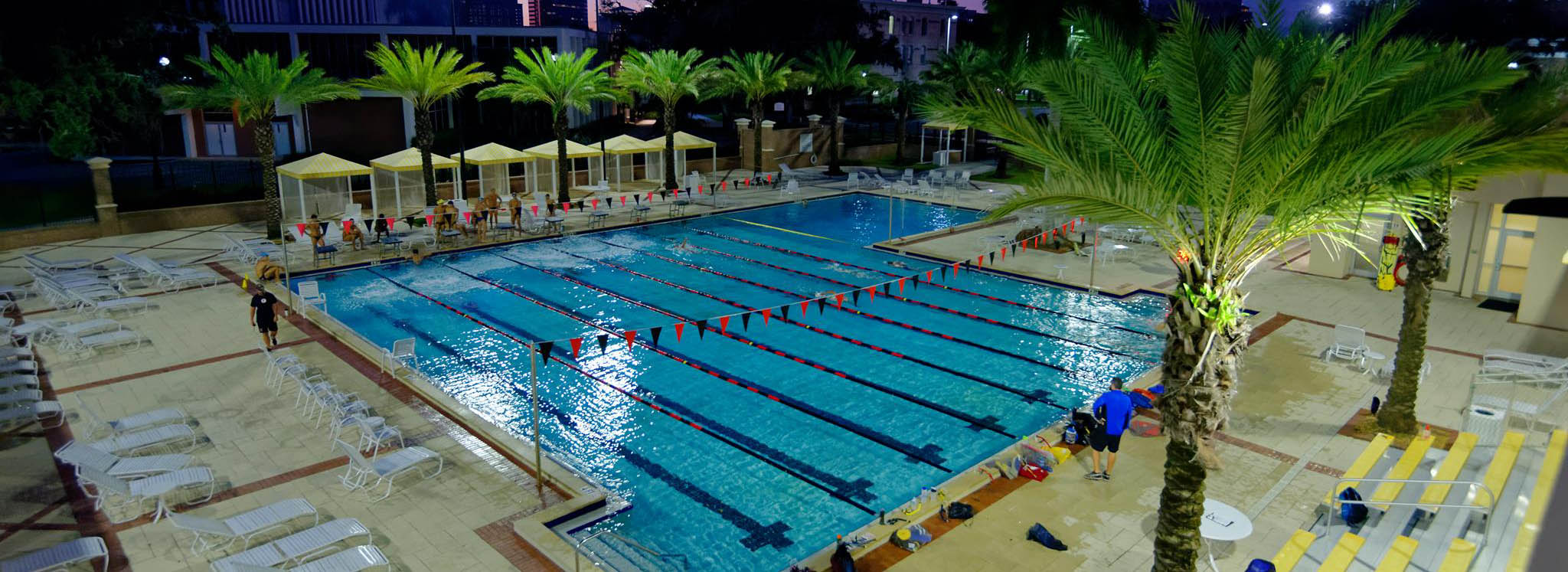 University of Tampa pool photo
