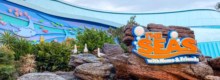 Disney Epcot The Seas with Nemo & Friends Aquify Systems project