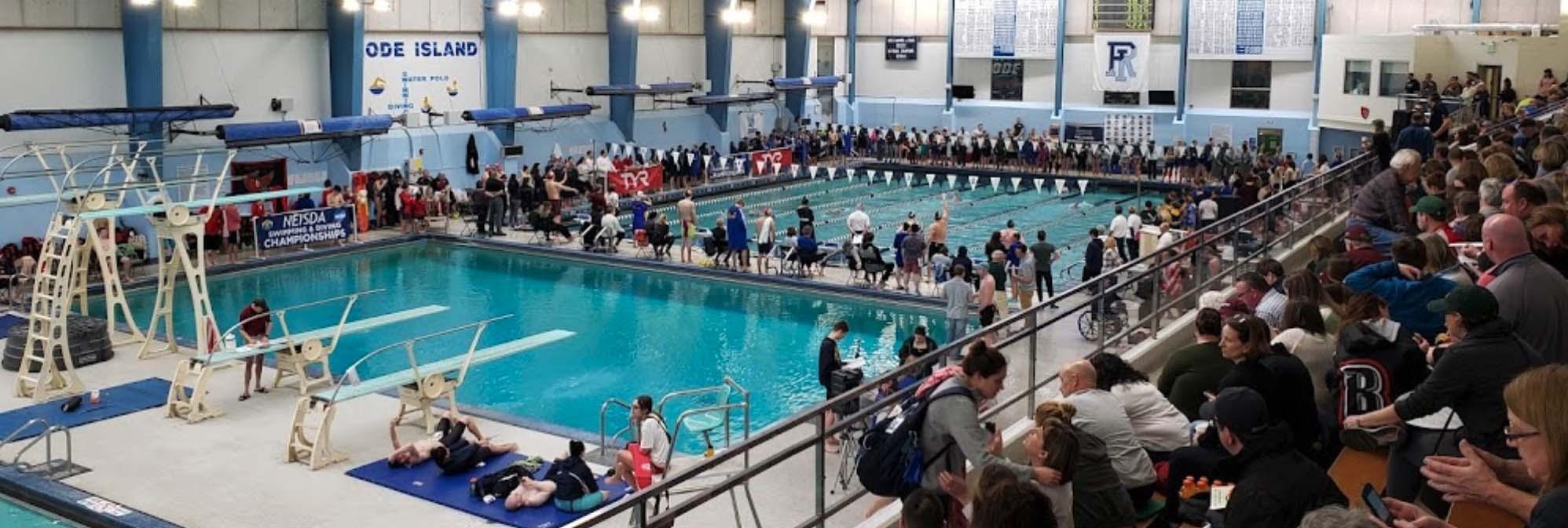 University of Rhode Island Aquatics pool