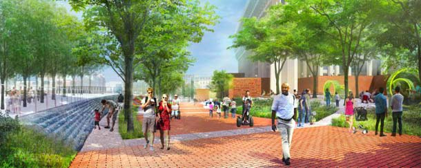 Boston City Hall fountain Aquify Systems project