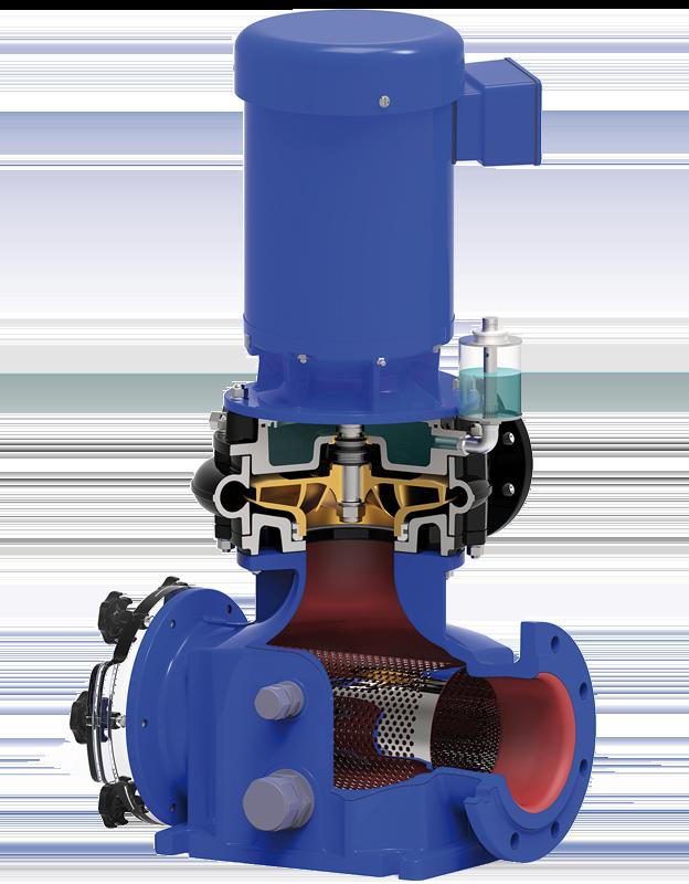 Pump cross section