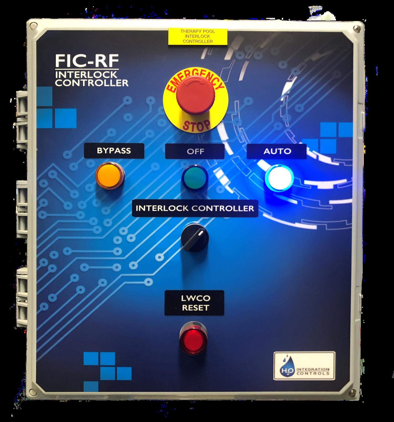 Interlock controller regenerative media filter