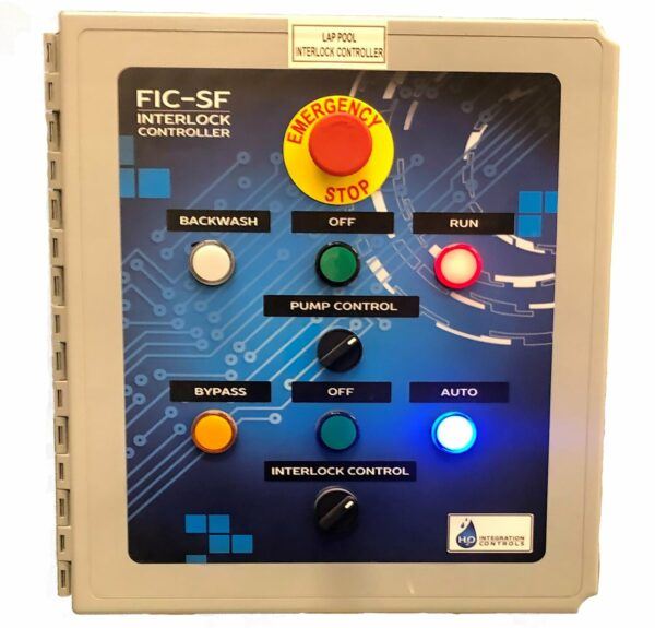 Interlock controller for sand filters