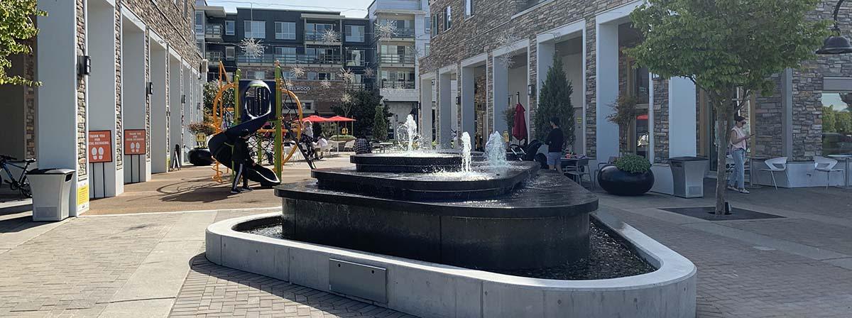 The Shops at Morgan Crossing Fountain